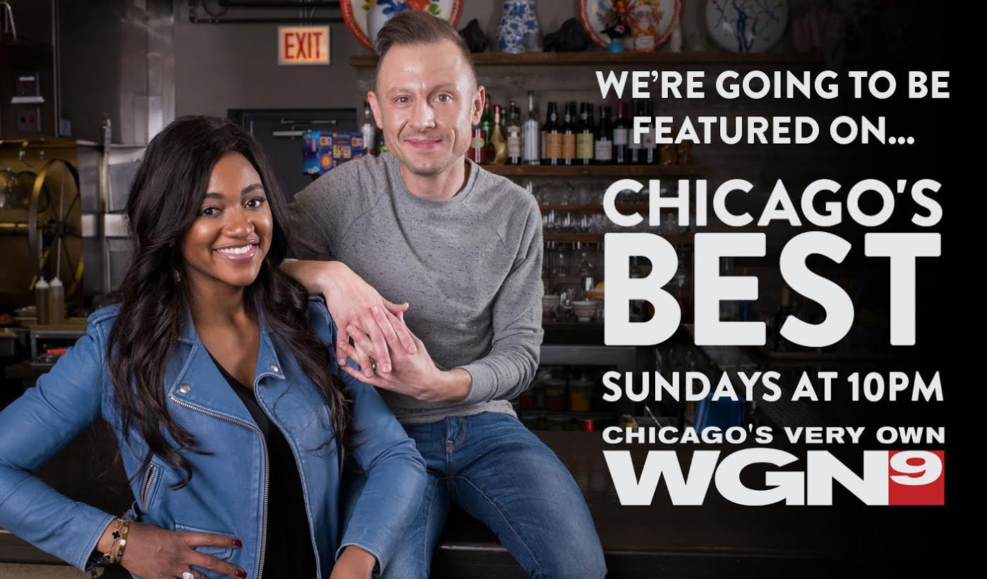 HTH will be in an episode of Chicago's Best Outrageous Eats show that films May 24 and airs on WGN-TV June 25