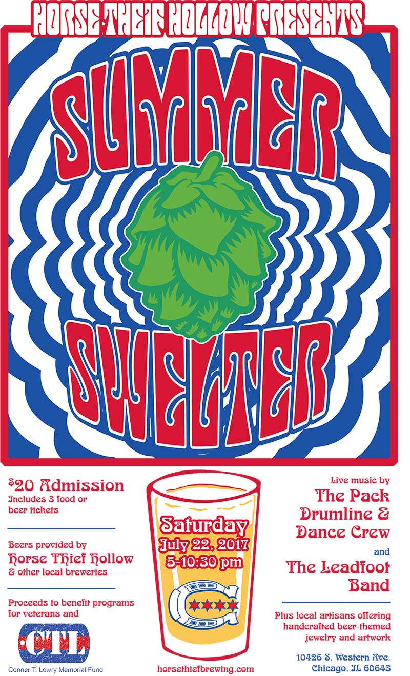 Summer Swelter 2017 Poster