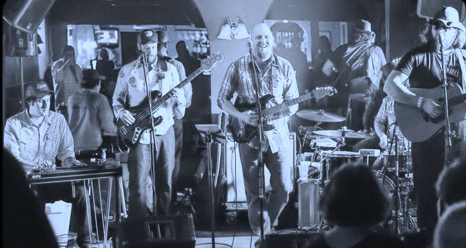 The Stoned Lonesome quartet take the stage to play honky tonk music