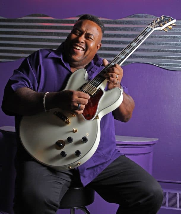 blues musician Larry McCray