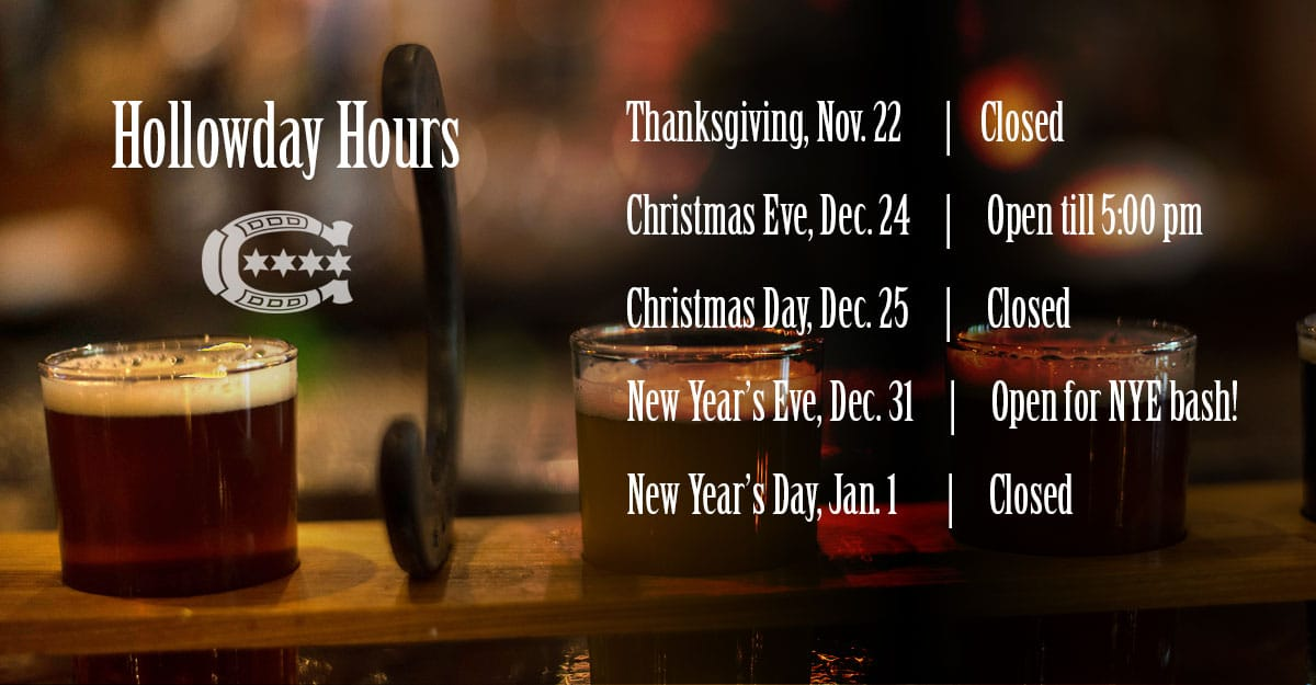 lists HTH's Holiday Hours 2018